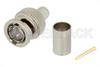 75 Ohm BNC Male Connector Crimp/Solder Attachment for Belden 1694A -- PE45116 -Image