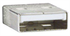 Right Angle USB Cable, Straight A Male / Up Angle B Male, 0.3m -- CAA-90UB-03M -Image