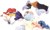 HOSPECO® Huck Towels - 10 lb. -- CW10 -- View Larger Image