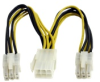 StarTech.com PCI Express Power Splitter Cable -- PCIEXSPLIT6