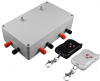 DC Control Box - for Multiple Motors - Simultaneous Function - Speed Control - Wireless Remotes -- PA-25