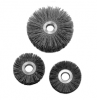 Industrial Brushes - Power Brushes - Abrasive Nylon Copper Center Wheel Brush -- 10715