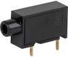 PBD 1211 Test Jack, PCB Mounting, Ø 2 mm, 6.3 A, flux-proof -- PBD 1211 - Image