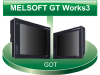 HMI Programming Screen Creation and Maintenance Program -- MELSOFT GT Works3