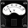 Vintage Series Analogue Meter -- R15 - Image