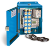 PurgeX Infrared Sensing Lubrication System with 12 Air-Operated PurgeX Pumps, Nema 12 Enclosure, 100-240VAC 50/60Hz -- B3651-112