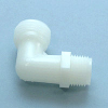 Nylon Elbow MNPT x MGHT -- 63062