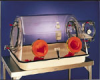GLOVE BOX - Acrylic, La Petit, Plas-Labs™, 25 1⁄2 x 31 1⁄2 x 21 1⁄2 -- 1158522 - Image