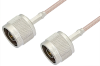 N Male to N Male Cable 12 Inch Length Using RG316 Coax -- PE3487-12 -Image