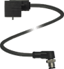 Valve Connector Cordset -- VMA-2+P/Z2-0,6M-PVC-V1-W-Y
