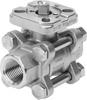 Ball valve -- VZBA-3/8