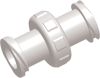 Female to Female Luer to Luer Straight Connector -- AP18FTFLXFEP