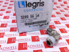 LEGRIS 3209-56-14 ( ELBOW FITTING NICKEL PLATED BRASS 1/4IN TUBE NPT ) -Image