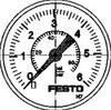 Precision pressure gauge -- MAP-40-6-1/8-EN - Image