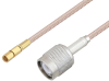 SSMC Plug to TNC Male Cable 18 Inch Length Using RG316-DS Coax -- PE3C4479-18 -Image