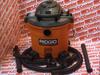 RIDGID TOOL WD1273 ( VAC WET/DRY 5HP 12-GALLON 10AMP 120VAC 60HZ ) -Image
