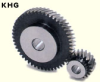 100mm PD Ground Helical Gears -- KHG2-50R -- View Larger Image