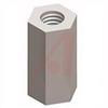Standoff; #6-32; 0.375 in.; 0.250 in.; Hex; Brass; ASTM-B16, ASTM B633 -- 70181980
