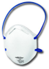 Jackson Safety R10 Blue/White N95 Molded Cup Respirator - 036000-64230 -- 036000-64230