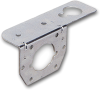 Pollak 11-617 Trailer Connector Bracket, Silver, Use with 4 to 6-Way Sockets -- 37603 -Image
