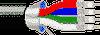 RGB Video, Mini #30-4 Coax Stranded TC, CL2 -- 1521A -Image