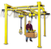 STAND-ALONE LODERAIL WORK AREA CRANES -- HLR500-S-12-20-23-20 -- View Larger Image