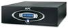 APC AV Black J Type 1.5kVA Power Conditioner with Battery Backup 120V Retail -- J15BLK