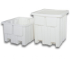 Plastic Container; Fixed Wall -- P-340