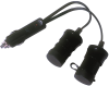 12 V Cigarette Plug Splitter -- ZA5072