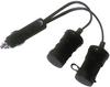 12 V Cigarette Plug Splitter -- ZA5072 - Image