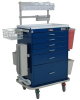 Classic Tall Six Drawer Workstation with Mechanical Com.. -- 7456