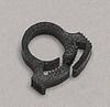 Acetal Copolymer Hose Clamps, Black, 0.228