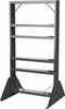 Rack, Easy Flow Gravity Hopper Rack, Gray -- 31625RACK