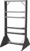 Rack, Easy Flow Gravity Hopper Rack, Gray -- 31625RACK - Image
