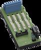 Termination Board -- HiDTB04-DVM-IDC1-SC-R1-DI16