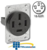 Leviton 60Amp Flush Mount Receptacle -- 8360