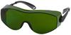 Bouton Optical OverSite 250-98 Polycarbonate Over The Glass (OTG) Welding Glasses Shade 3.0 Lens - Black/Gray Frame - Wrap Around Frame - 616314-31172 -- 616314-31172