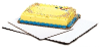Dixie® 1/8 Sheet Scalloped Corrugated Cake Pad