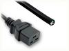 BLUNT CUT to IEC-60320-C19 HOME • Power Cords • IEC/Jumper Power Cords • Domestic -- 0101.039 -Image