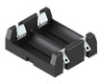 Dual 2/3A Battery Holder w/ solder lugs -- 1120