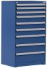 Heavy-Duty Stationary Cabinet , 9 Drawers (36