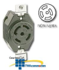 Leviton Non-Nema Single Flush Receptacle -- 3520