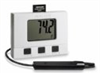 Datalogger, large display, humidity and temperature with remote probe -- EW-23036-40