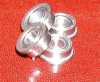 4 Slot Car Flanged Ceramic Bearing 1/8 -- kit987