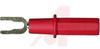 FULL SAFETY SPADE TERMINAL - RED UL/CSA -- 70062293 - Image