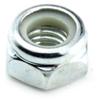 M12 - 1.75 Cl. 6 DIN 958 Nylon Insert Lock Nut, Zinc -- N6985M12P175Z