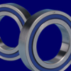 MACHINE TOOL SPINDLE BALL BEARINGS, ANGULAR STEEL, SEALED 100 -- MC-1101SS