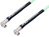 SMA Male Right Angle to SMA Male Right Angle Low Loss Cable 50 cm Length Using PE-P142LL Coax, RoHS -- PE3C1425-50CM -Image