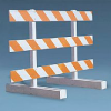 Type III Plastic Barricade