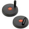 Plastic Solid Disk Handwheel -- EDHN